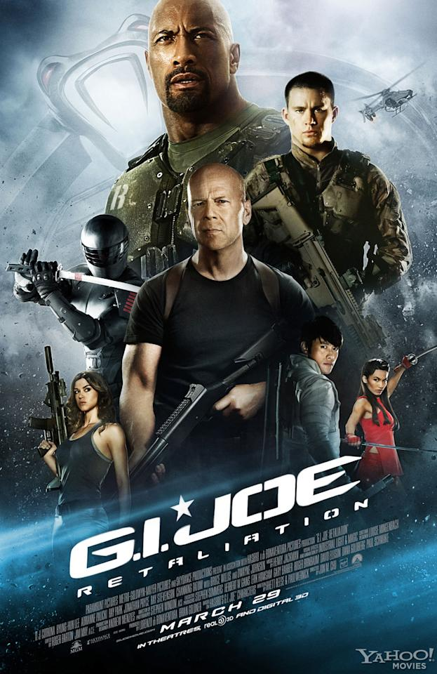 """New Domestic Poster for Paramount Pictures' """"G.I. Joe: Retaliation"""" - 2013"""