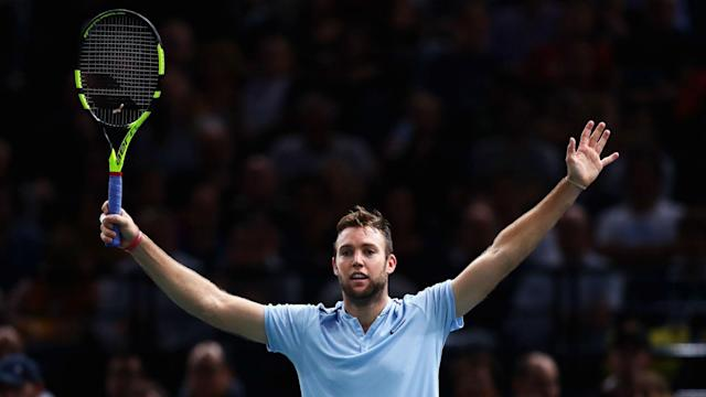 Jack Sock was not aware that he had even an outside chance of playing in London, but defied the odds to take the final spot.