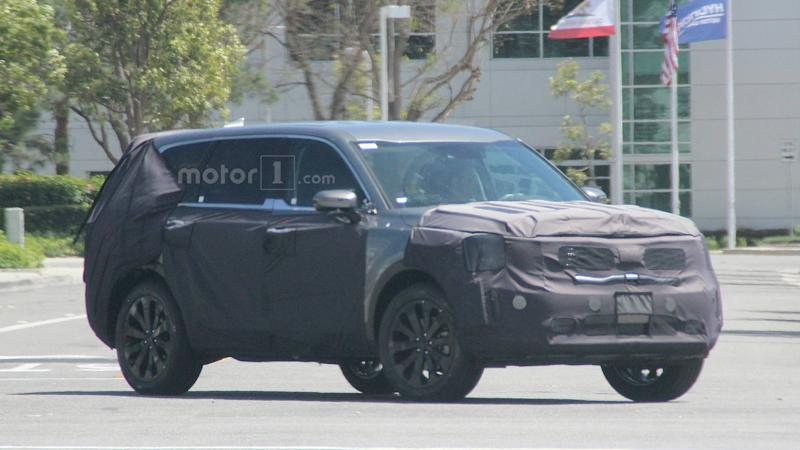 2020 Kia Telluride Spied Looking Large And In Charge