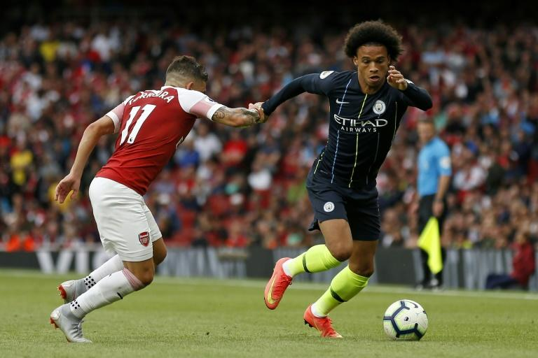 Manchester City winger Leroy Sane is fighting  for his place after being benched