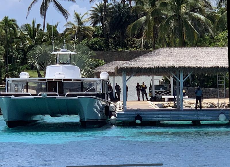 Epstein private island FBI raid