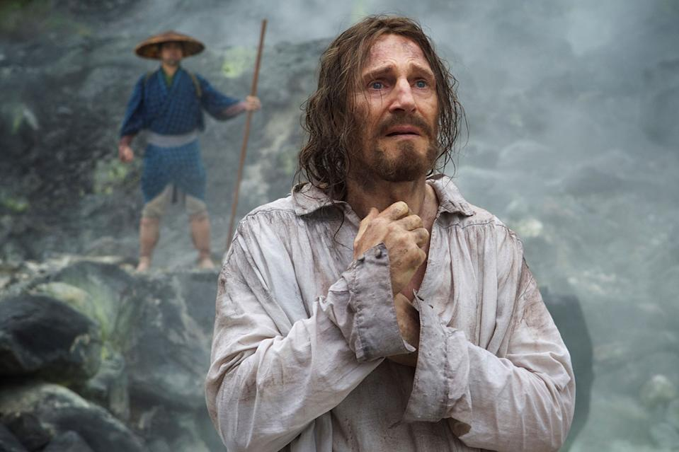Liam Neeson: Martin Scorsese didn't take a salary for Silence (exclusive)
