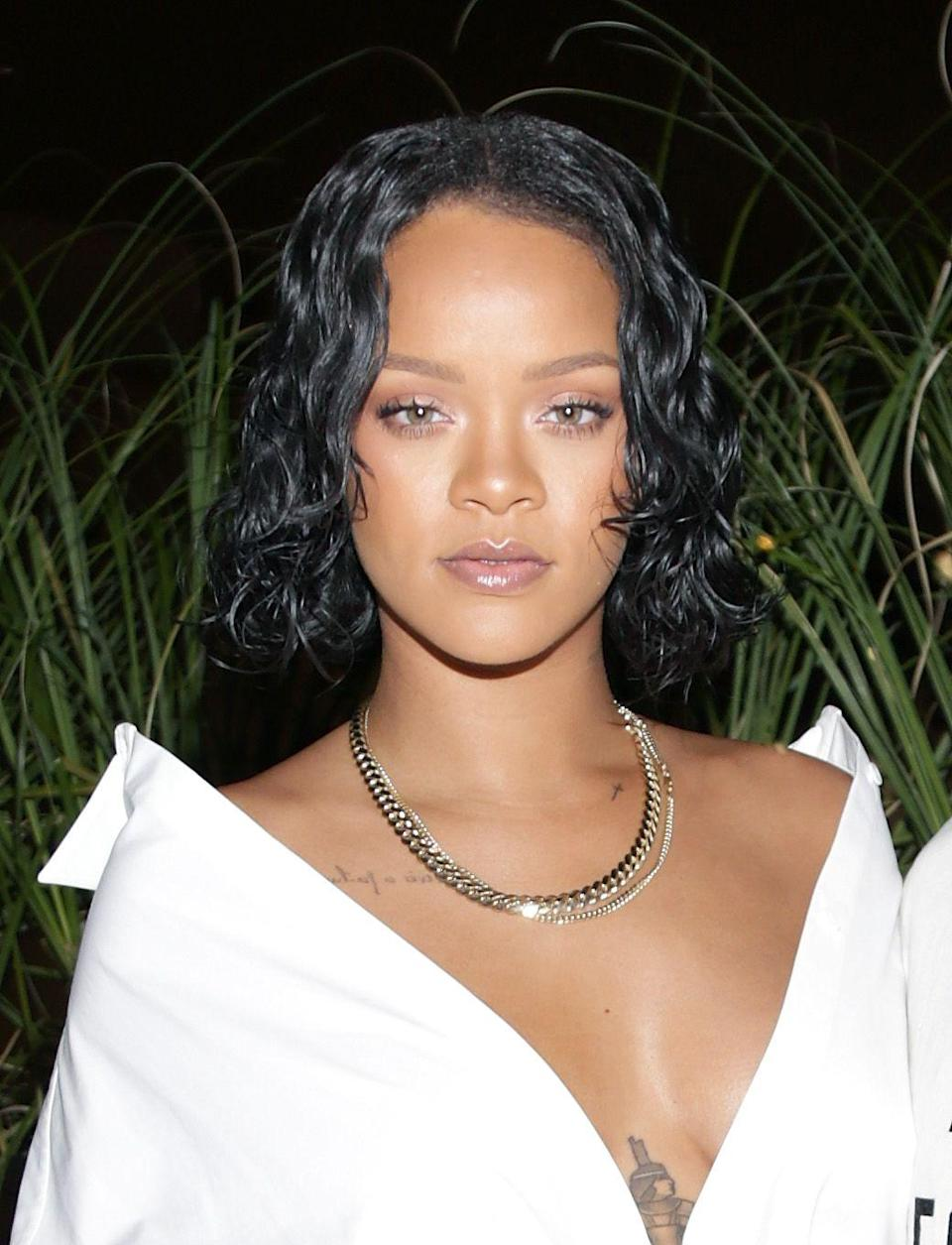 """<p><strong>Real name: </strong>Robyn Rihanna Fenty</p><p>She still goes by Robyn with friends and family. """"When I hear 'Robyn,' I pay attention,"""" she told <a href=""""http://www.rollingstone.com/music/pictures/excerpts-from-rihannas-rolling-stone-cover-story-20110330/rihanna-is-actually-her-middle-name-0551241"""" rel=""""nofollow noopener"""" target=""""_blank"""" data-ylk=""""slk:Rolling Stone"""" class=""""link rapid-noclick-resp"""">Rolling Stone</a>.</p>"""