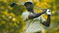 <p>Fiji native Vijay Singh turned pro in 1982 but didn't join the PGA Tour until 1993. He still plays on the PGA Tour as well as the Tour Champions, which he joined in 2013. He left his mark on the sport with 34 Tour victories, three of which were majors, as well as 22 international victories.</p>