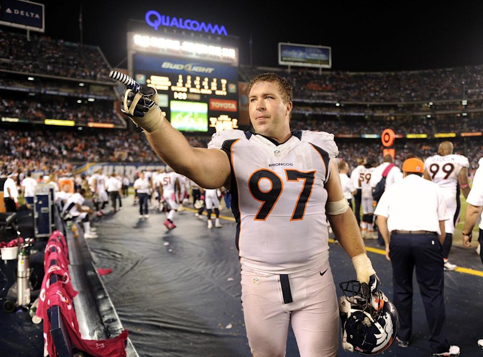 Justin Bannan played for the Denver Broncos, and four other teams, during his 12-year career.
