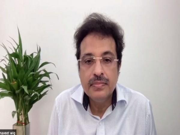 Dr Naveet Wig, Head of the Medicine Department, All India Institute of Medical Science (AIIMS). (Photo/ANI)