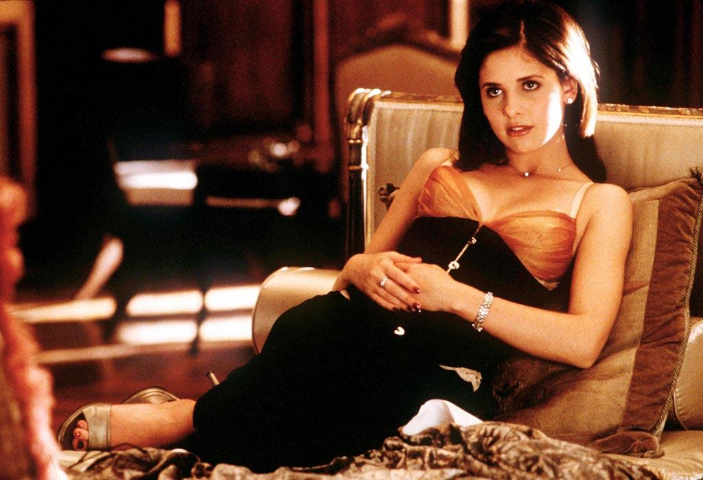 "<a href=""http://movies.yahoo.com/movie/contributor/1800018814"">Sarah Michelle Gellar</a>, ""<a href=""http://movies.yahoo.com/movie/1800018810/info"">Cruel Intentions</a>""<br><br>Before girls were <a href=""http://movies.yahoo.com/movie/1808529211/info"">""Mean,""</a> they were Cruel. In this updated version of <a href=""http://movies.yahoo.com/movie/1800053311/info"">Dangerous Liaisons</a>, SMG's Kathryn saunters around with a cocaine-loaded crucifix and spends her free time corrupting and destroying anyone that endangers her sacred reputation, even her own brother."