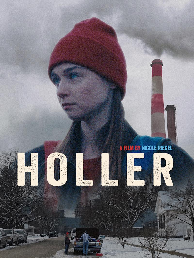 'Holler' poster (Level Forward)