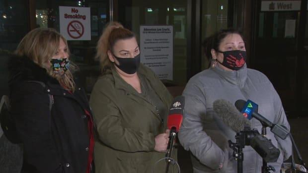 Gladue's friends — Lisa Weber, Brandy Poorman, and Kari Thomason — expressed relief at the guilty verdict but said it had been a 'long journey' to get here.