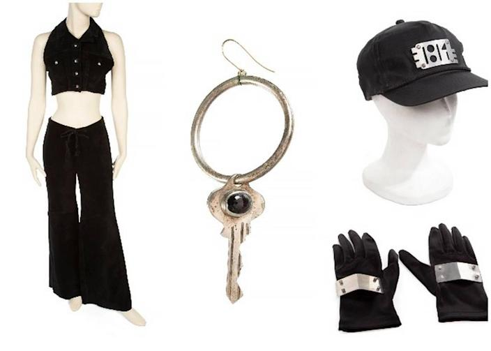 """Among the items up for auction include Jackson's ensemble from the """"That's the Way Love Goes"""" music video, iconic key earring and accessories from the Rhythm Nation tour."""