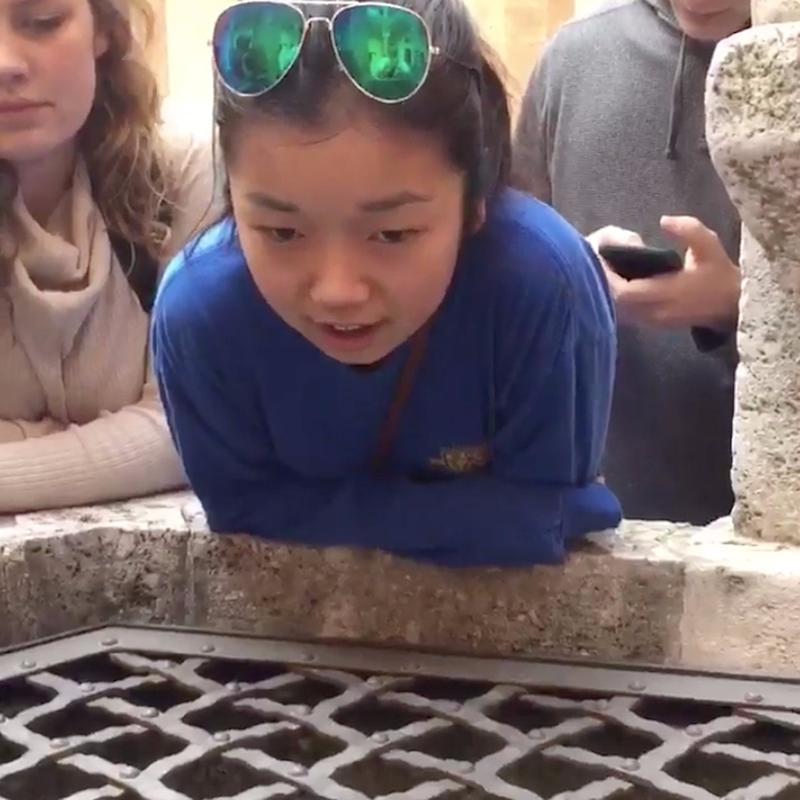 """This Girl Singing """"Hallelujah"""" Into a Well Will Give You CHILLS"""