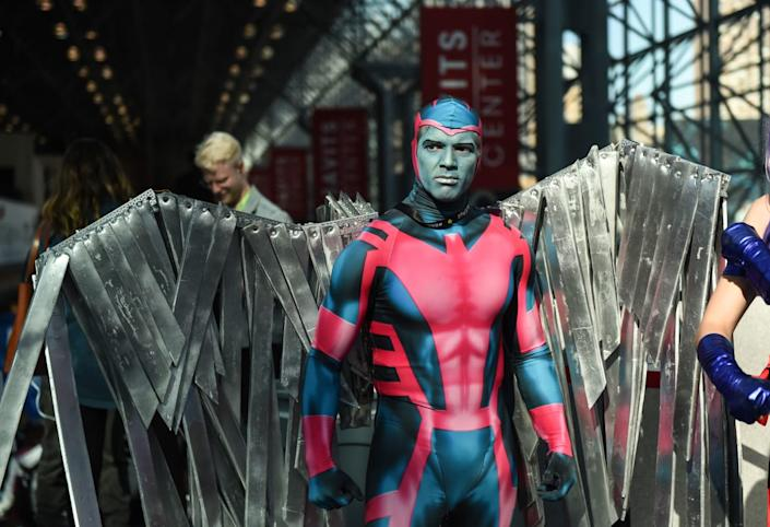 """<div class=""""inline-image__caption""""><p>Hundreds of thousands of fans turned out this weekend for the 13th annual New York Comic Con at the Jacob K. Javits Convention Center in Manhattan. These are some of the best costumes spotted this year at the massive floor show—from iconic DC Comic characters to the heroes and villains of the Marvel Universe, and even a Baby Trump.</p></div> <div class=""""inline-image__credit"""">DANIEL ZUCHNIK/Getty</div>"""