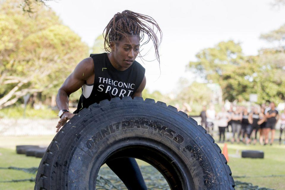 After having a knee reconstruction last year, Ellia's nearly back to fighting fit. Photo: Supplied