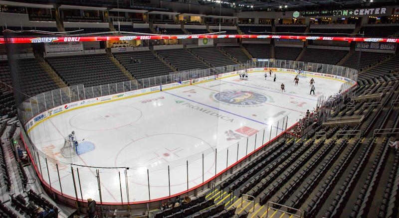 The ECHL is shutting down operations for the remainder of the 2019-20 season. (Getty Images)