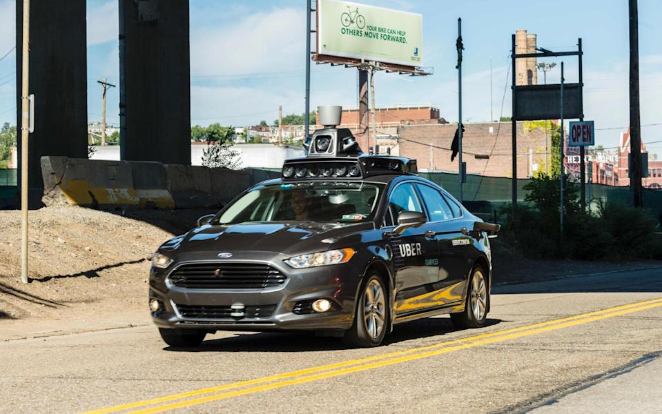 Uber has sold its driverless car division - AFP