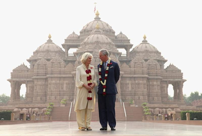 Camilla and Prince Charles in India, 2017 | Chris Jackson/Getty