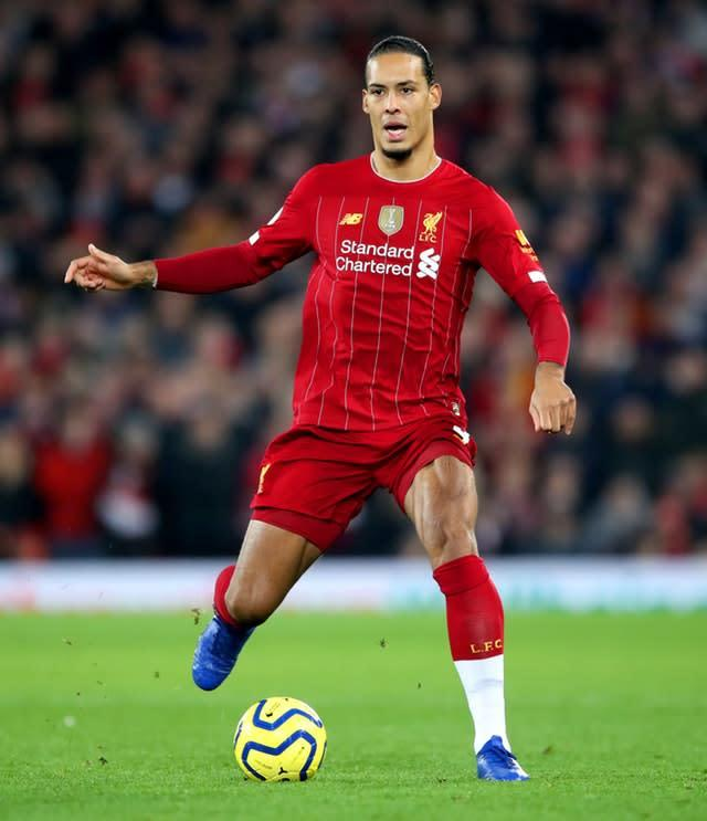 The likes of Virgil Van Dijk will be given the opportunity to rest (Nick Potts/PA)