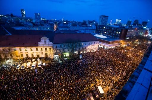 The double murder of Kuciak and his fiancee Martina Kusnirova plunged the country into crisis and sparked mass demonstrations