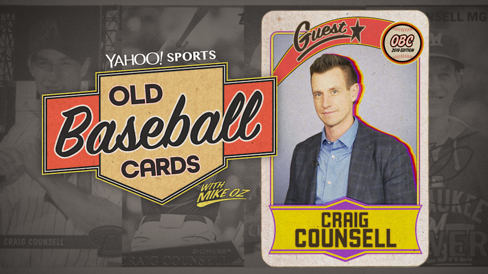 "Brewers manager Craig Counsell talks about ice fishing, 80s baseball and old nicknames on ""Old Baseball Cards."""