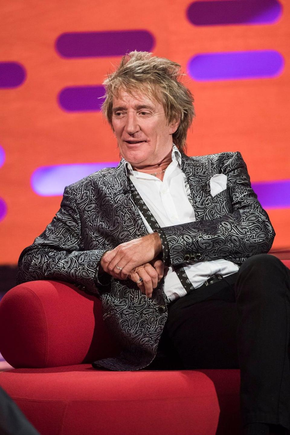 Sir Rod Stewart and his son denied a charge of simple battery following an incident in Florida in 2019 (Matt Crossick/PA) (PA Archive)