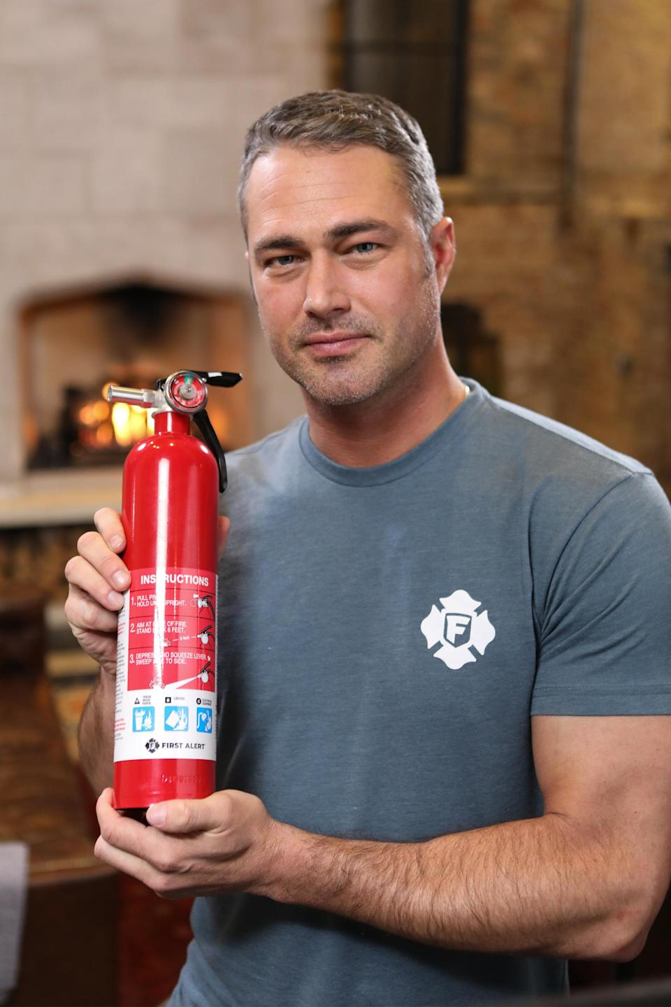 Have fire extinguishers – and know how to use them