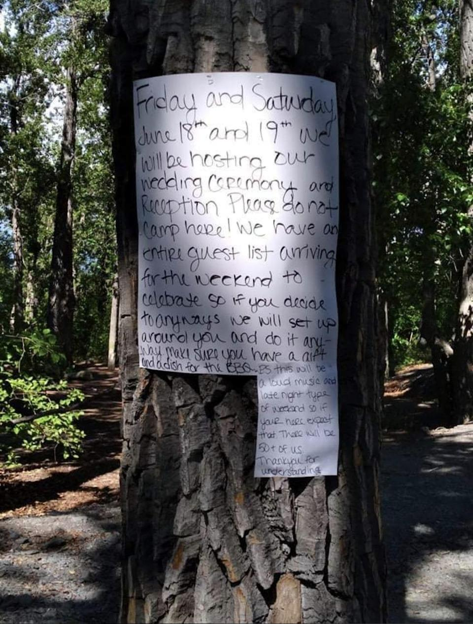 Note on tree about party