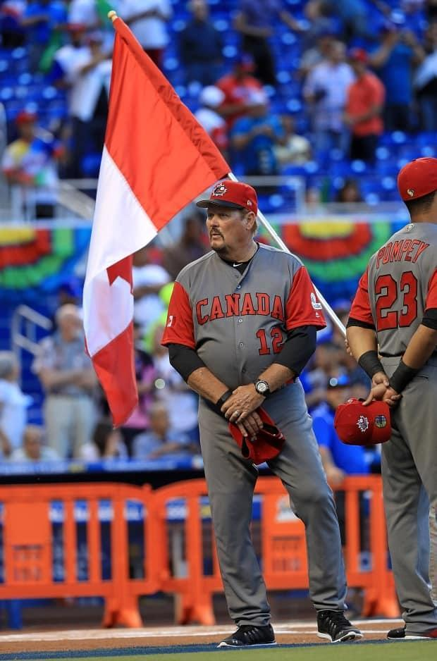 Ernie Whitt, a former Toronto Blue Jay, is the long-time coach of Canada's national baseball team. (Getty Images - image credit)