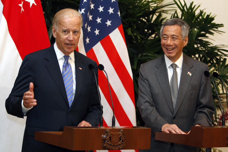 PM Lee congratulates Biden, Harris on US election victory