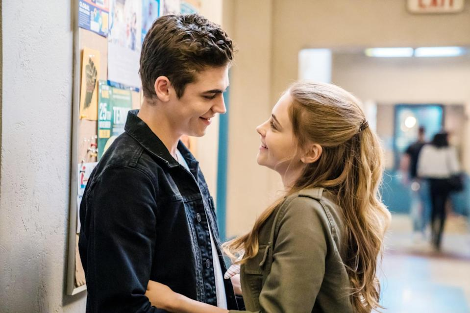 """<p>Tessa Young is a hardworking student and predictable good girl, and even though she's leaving for her first semester of college, she can't help but look forward to coming home to her high school sweetheart. But when Tessa meets Hardin Scott, everything she thought wanted for herself and for her future unexpectedly takes a 180-degree turn.</p> <p><a href=""""https://www.netflix.com/search?q=after&amp;jbv=80244311"""" class=""""link rapid-noclick-resp"""" rel=""""nofollow noopener"""" target=""""_blank"""" data-ylk=""""slk:Watch After on Netflix"""">Watch <strong>After</strong> on Netflix</a>.</p>"""