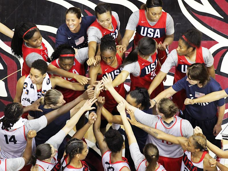The USA Basketball Women's National Team Is Currently Vying For Its Third Consecutive World Cup Victory