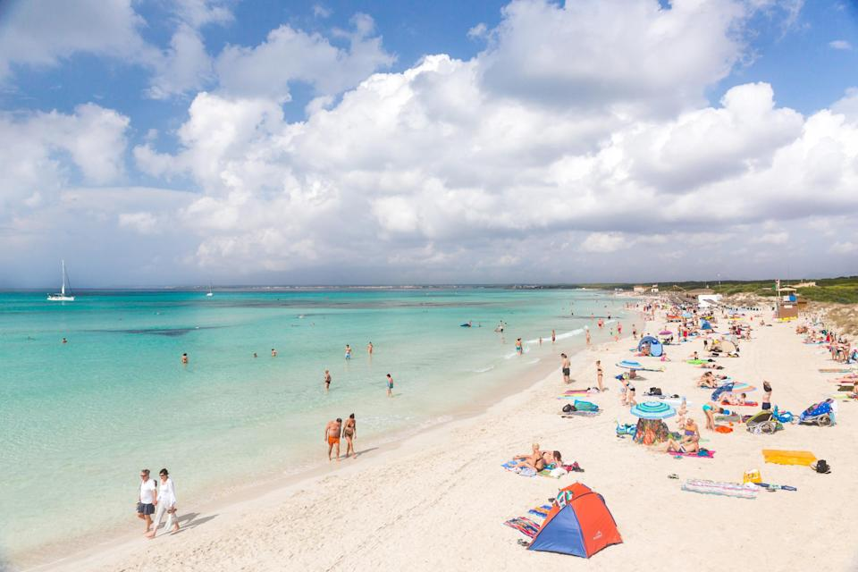 <em>Partying – the couple were on holiday in Majorca but apparently abandoned their children to go drinking elsewhere in their resort or on the strip (Picture: Getty)</em>