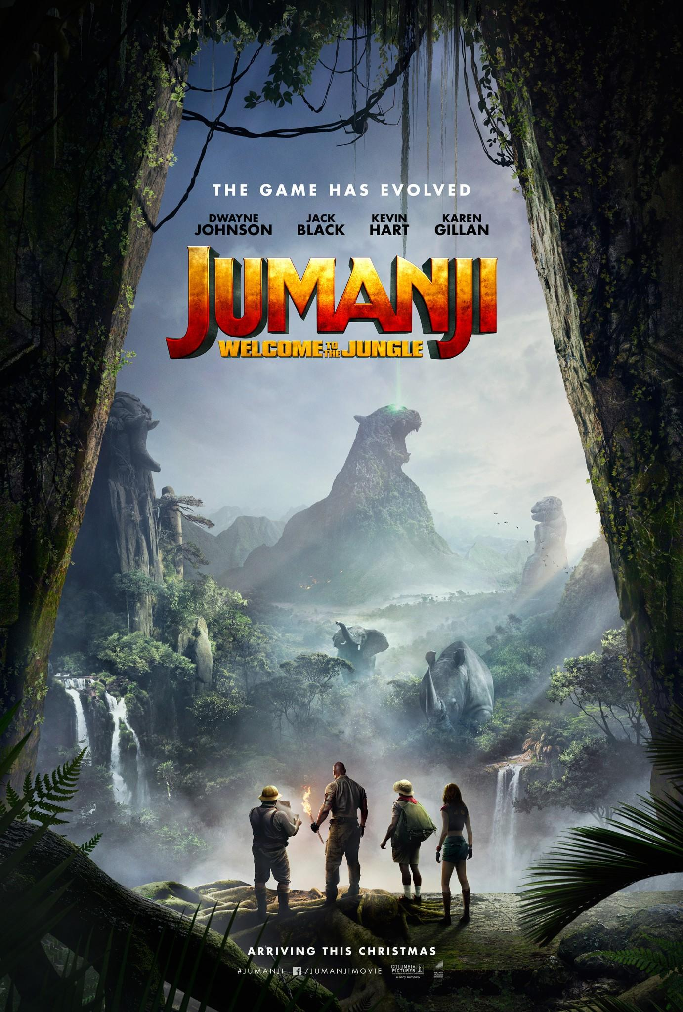 Jumanji: Welcome To The Jungle teaser poster (Sony Pictures)