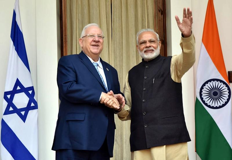 India looks to strengthen navy by procuring air-defence system from Israel
