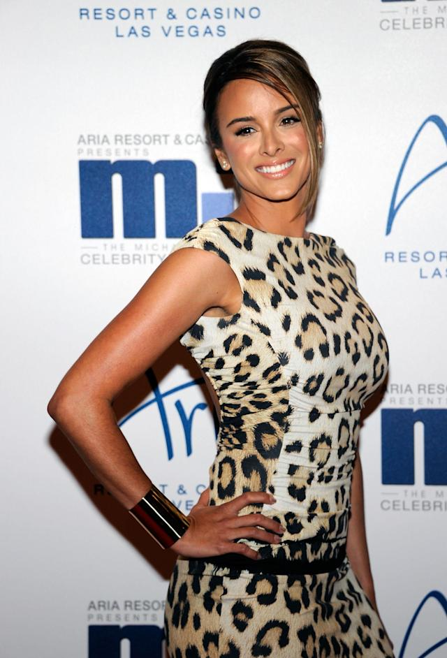 LAS VEGAS, NV - MARCH 30: Model Yvette Prieto arrives at the 11th annual Michael Jordan Celebrity Invitational gala at the Aria Resort & Casino at CityCenter March 30, 2011 in Las Vegas, Nevada. (Photo by Ethan Miller/Getty Images for MJCI)