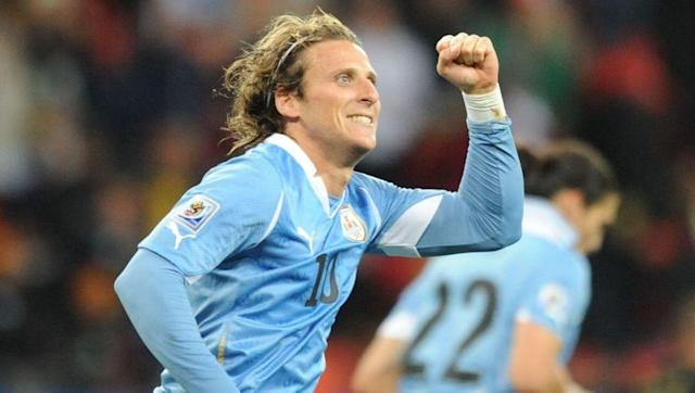 <p>Two-time former winners and semi-finalists in 2010, Uruguay weren't at the World Cup as recently as 2006 when they failed to make it through the notorious CONMEBOL qualifying.</p> <br><p>Uruguay's appearance at the 2002 tournament was their first since 1990, while they twice refused to participate in 1934 and 1938 in Europe as European nations had declined the invitation to play in Uruguay in the very first World Cup in 1930.</p> <br><p><strong>Status in 2018:</strong> 2nd in CONMEBOL standings with one game to play</p>