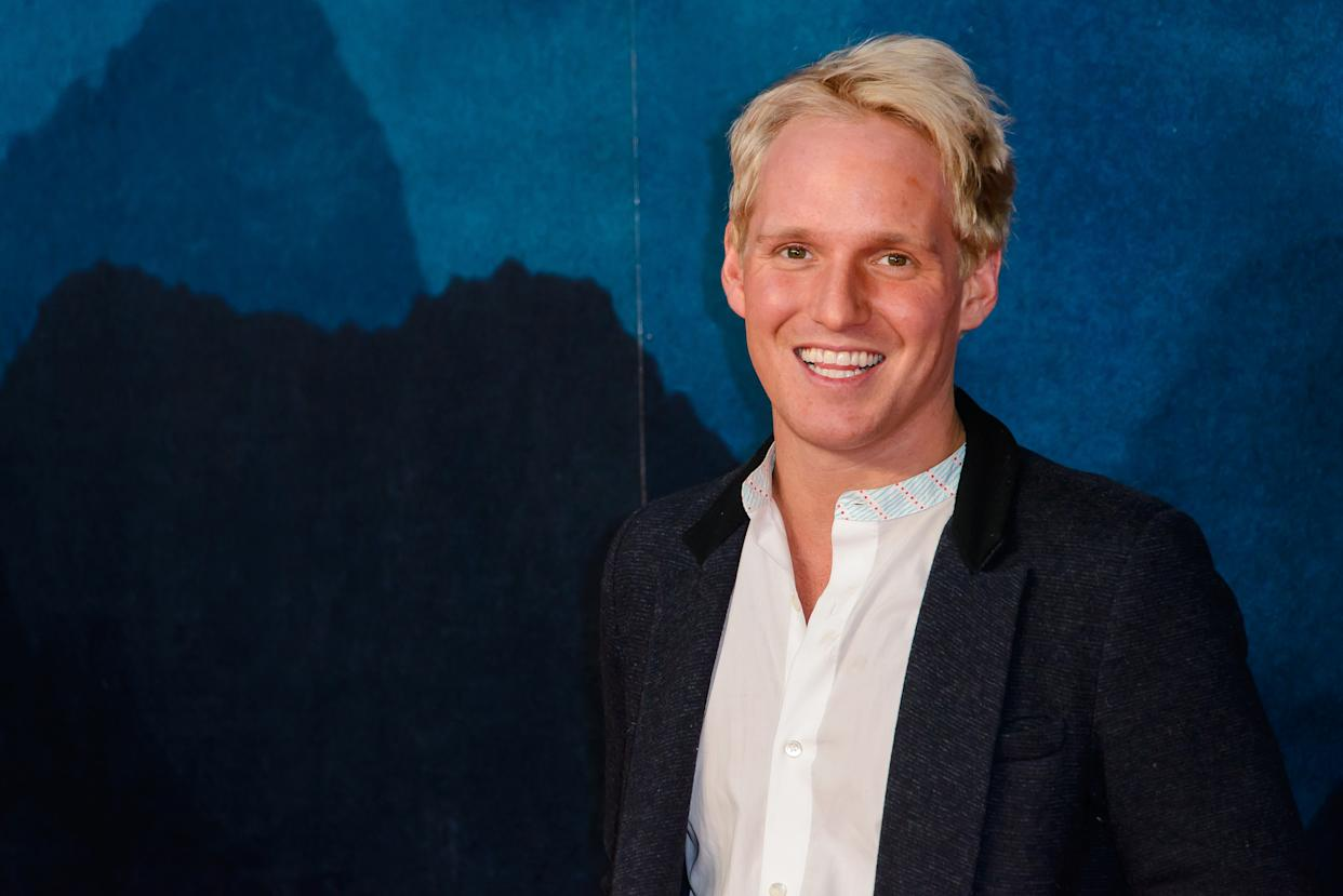 """LONDON, ENGLAND - FEBRUARY 28: Jamie Laing attends the European premiere Of """"Kong: Skull Island"""" on February 28, 2017 in London, United Kingdom. (Photo by Joe Maher/WireImage)"""