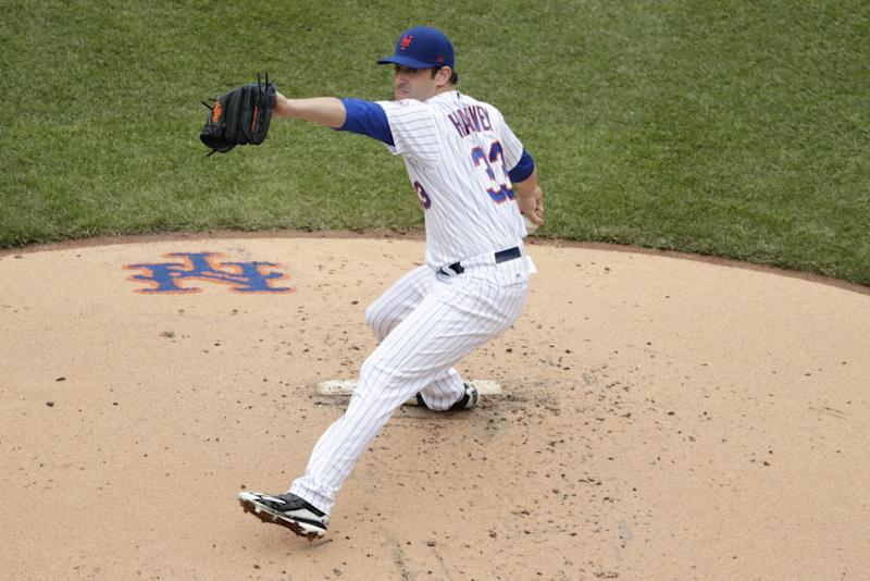 Matt Harvey won't be pitching for the Mets on Sunday. (AP)