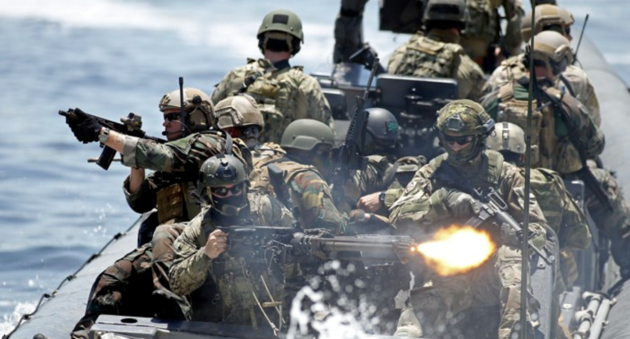 International special forces on a joint exercise in Florida