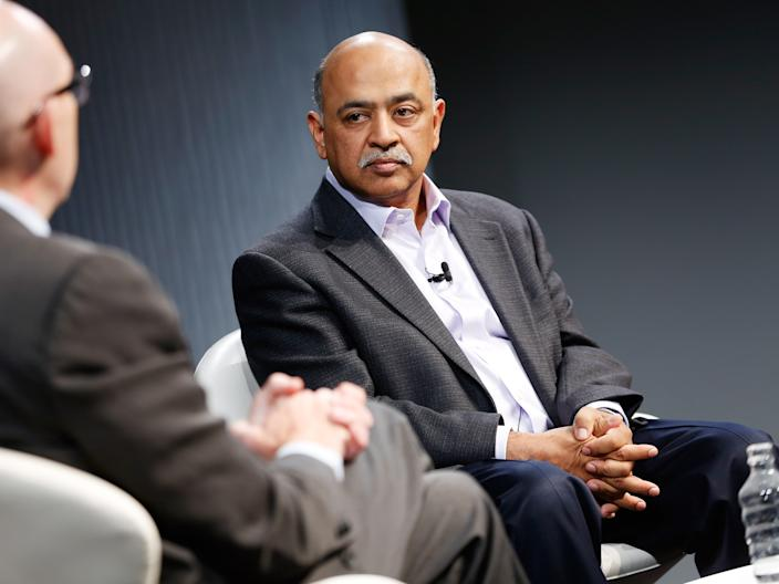 "IBM CEO Arvind Krishna. <p class=""copyright"">Photo by Brian Ach/Getty Images for Wired</p>"
