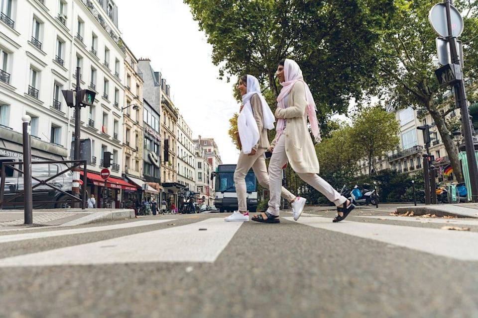 <p>France could pass a bill to ban under-18s from wearing Muslim headscarves and veils</p> (Getty)