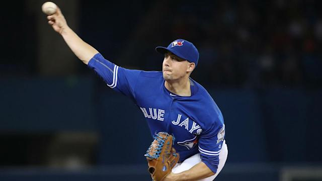 Aaron Sanchez has been dealing with blister issues all season.