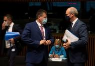 EU ministers discuss Brexit trade talks in Luxembourg