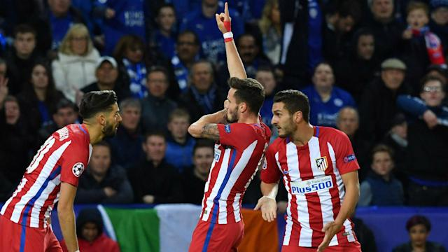 Leicester City's Champions League adventure ended with a spirited 1-1 home draw against Atletico Madrid on Tuesday.