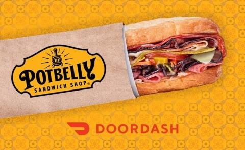 Potbelly Sandwich Shop Partners with DoorDash to Deliver Delicious Favorites, and Some Peace of Mind, for this Back-to-School Season