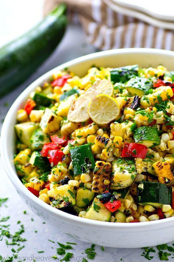 """<p>Here's a salad bursting with fresh flavors. It pairs beautifully with just about any main.</p><p><strong>Get the recipe at <a href=""""http://wholeandheavenlyoven.com/2016/08/25/charred-zucchini-sweet-corn-mexican-salad/"""" rel=""""nofollow noopener"""" target=""""_blank"""" data-ylk=""""slk:Heavenly Oven"""" class=""""link rapid-noclick-resp"""">Heavenly Oven</a>.</strong></p><p><span><strong><strong><strong><strong><strong><a class=""""link rapid-noclick-resp"""" href=""""https://go.redirectingat.com?id=74968X1596630&url=https%3A%2F%2Fwww.walmart.com%2Fip%2FPioneer-Woman-Slotted-Turner%2F910200136&sref=https%3A%2F%2Fwww.thepioneerwoman.com%2Ffood-cooking%2Fmeals-menus%2Fg32188535%2Fbest-grilling-recipes%2F"""" rel=""""nofollow noopener"""" target=""""_blank"""" data-ylk=""""slk:SHOP KITCHEN TOOLS"""">SHOP KITCHEN TOOLS</a></strong></strong></strong></strong></strong><br></span></p>"""