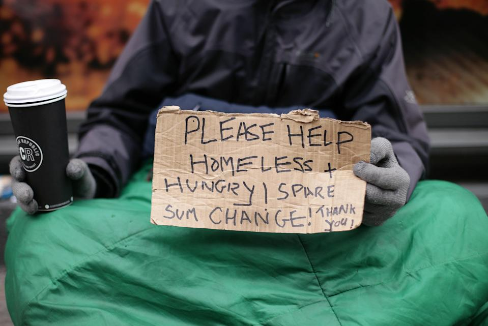 There are more than 4,000 rough sleepers in the UK (Picture: PA)