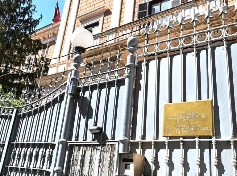 Police said that the Italian officer met a Russian embassy official
