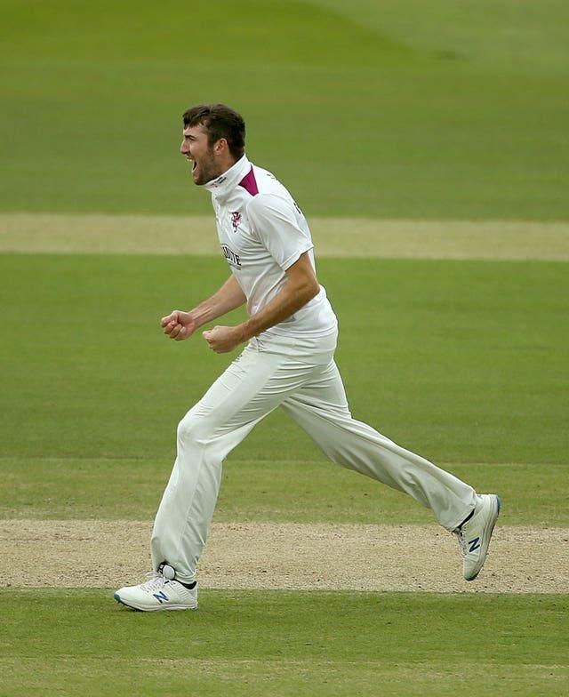 Craig Overton is the LV=Insurance County Championship's leading wicket-taker.