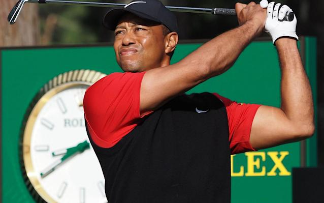 Tiger Woods has made a stunning come back just two months after his knee surgery - AFP