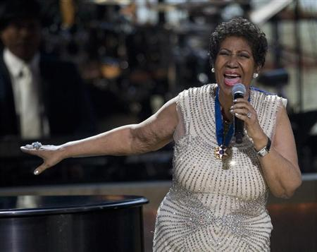 Aretha Franklin performs onstage at BET Honors 2014 at Warner Theatre